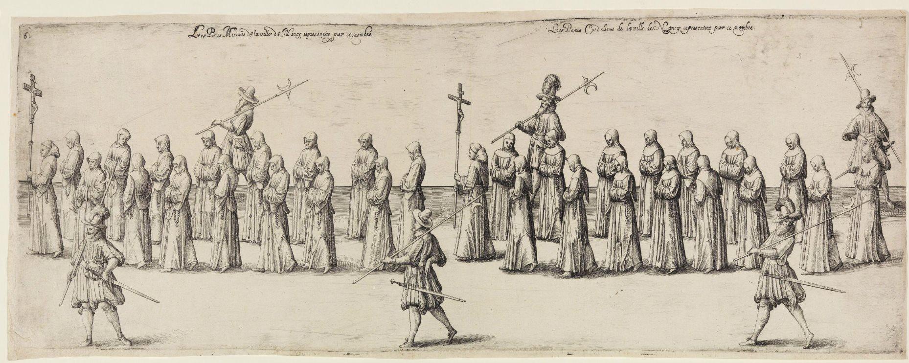 17세기의 롱소드 패용