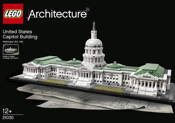레고 아키텍처 - 민주주의의 전당