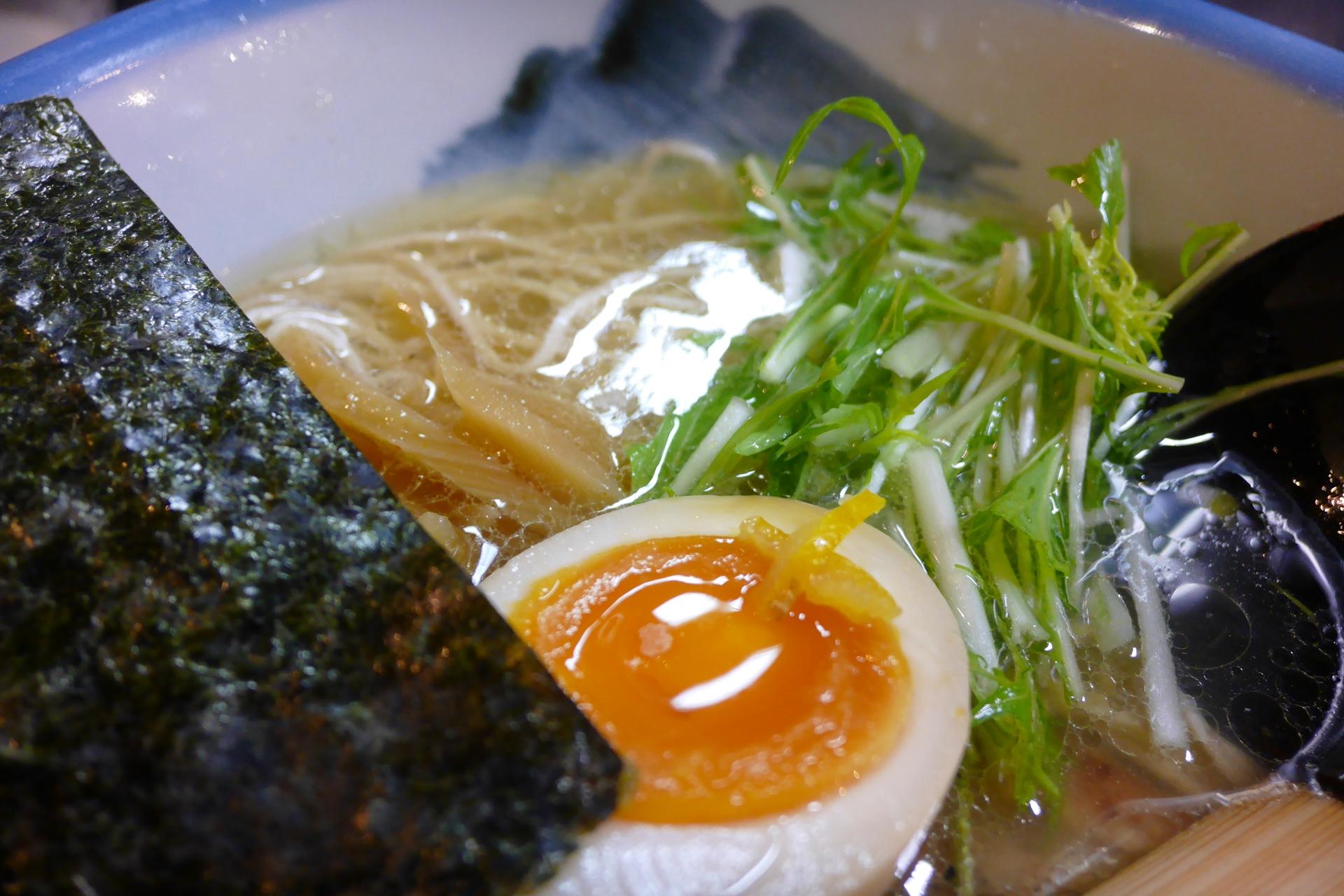 [도쿄] AFURI 유즈시오라멘 - 은 맛있었는데 직원..