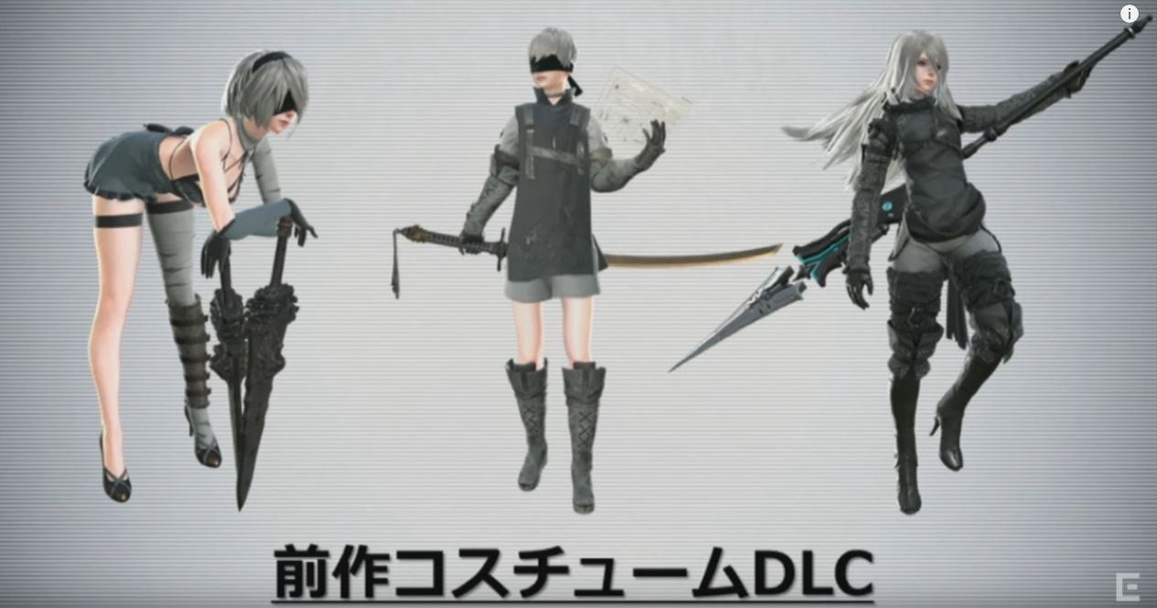 [PS4] 니어 오토마타 DLC 영상