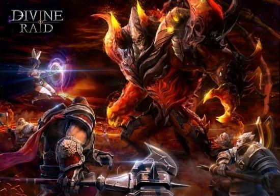 모바일 MORPG 디바인레이드