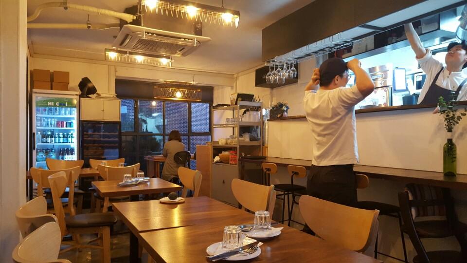 [상수] 상수동 양식당 : 호젓한 파스타 집