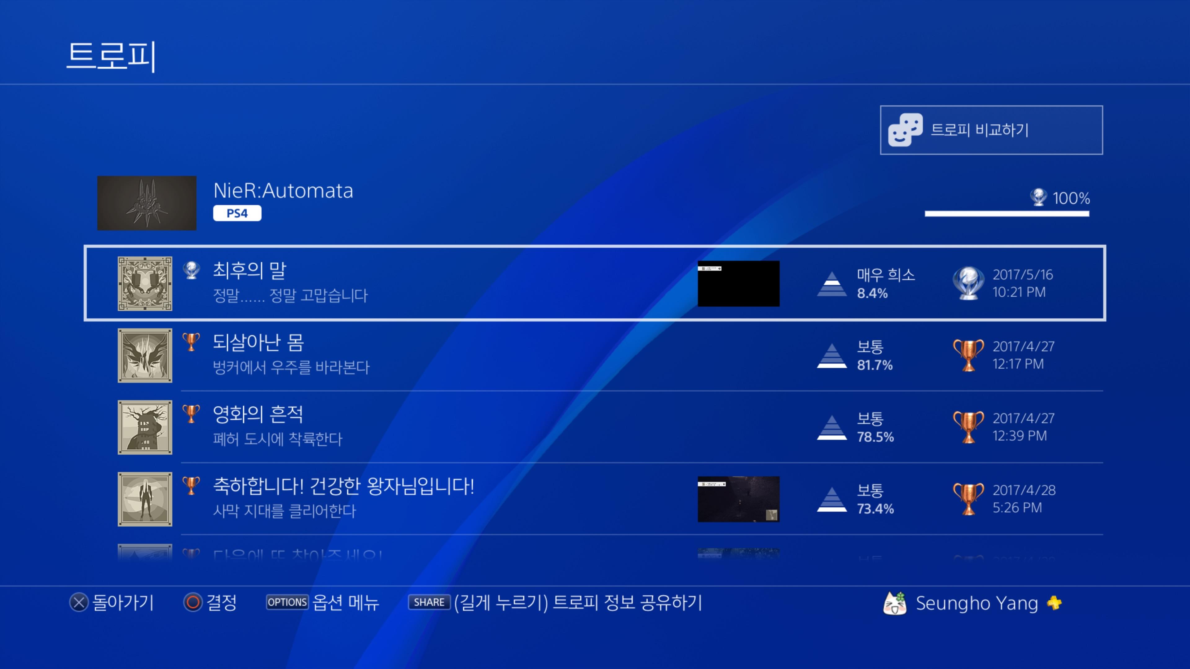 [PS4] 니어 오토마타 플래티넘!