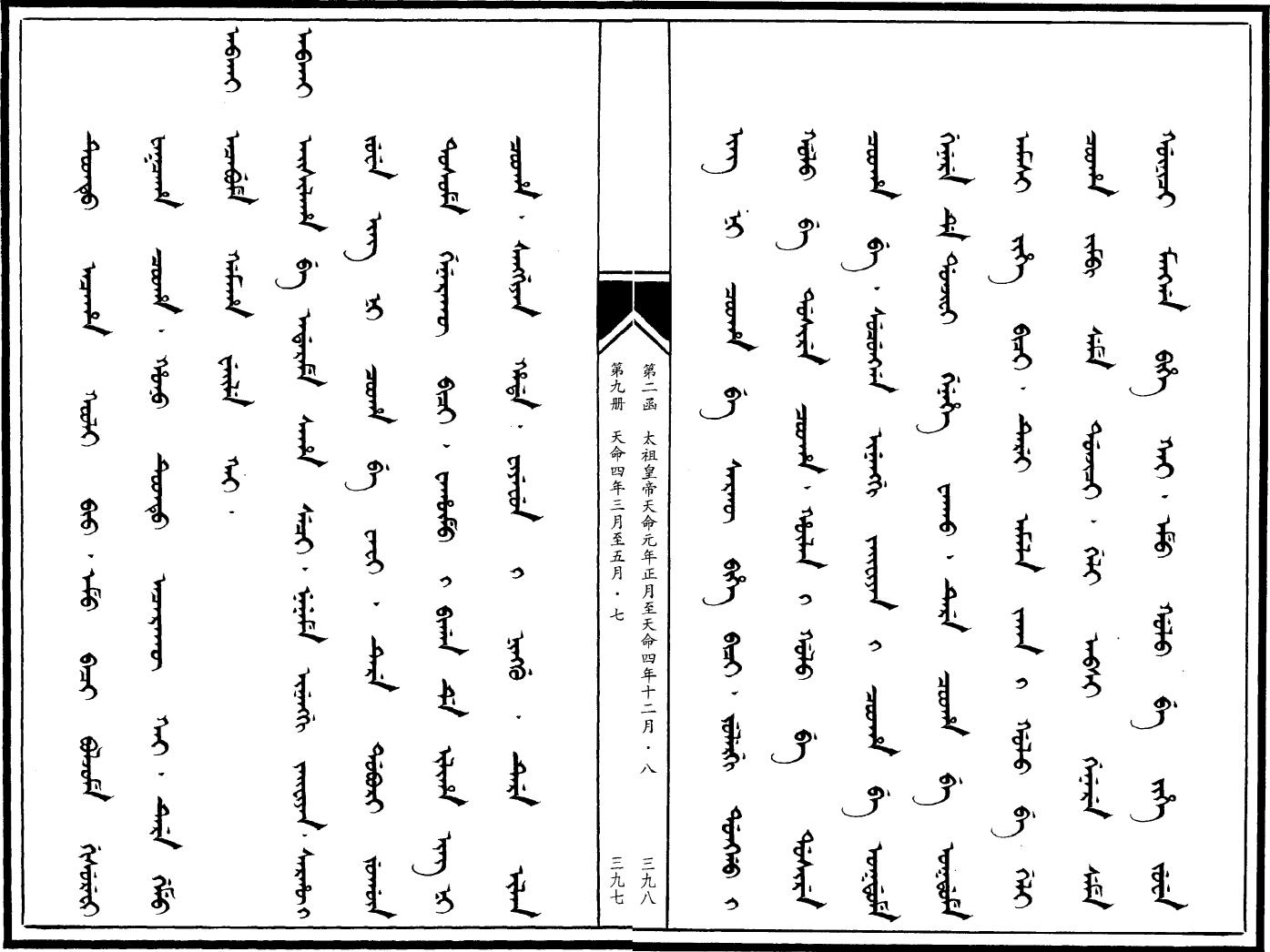 만주어 만문노당 188부-사로병진 각개격파는 하늘의..