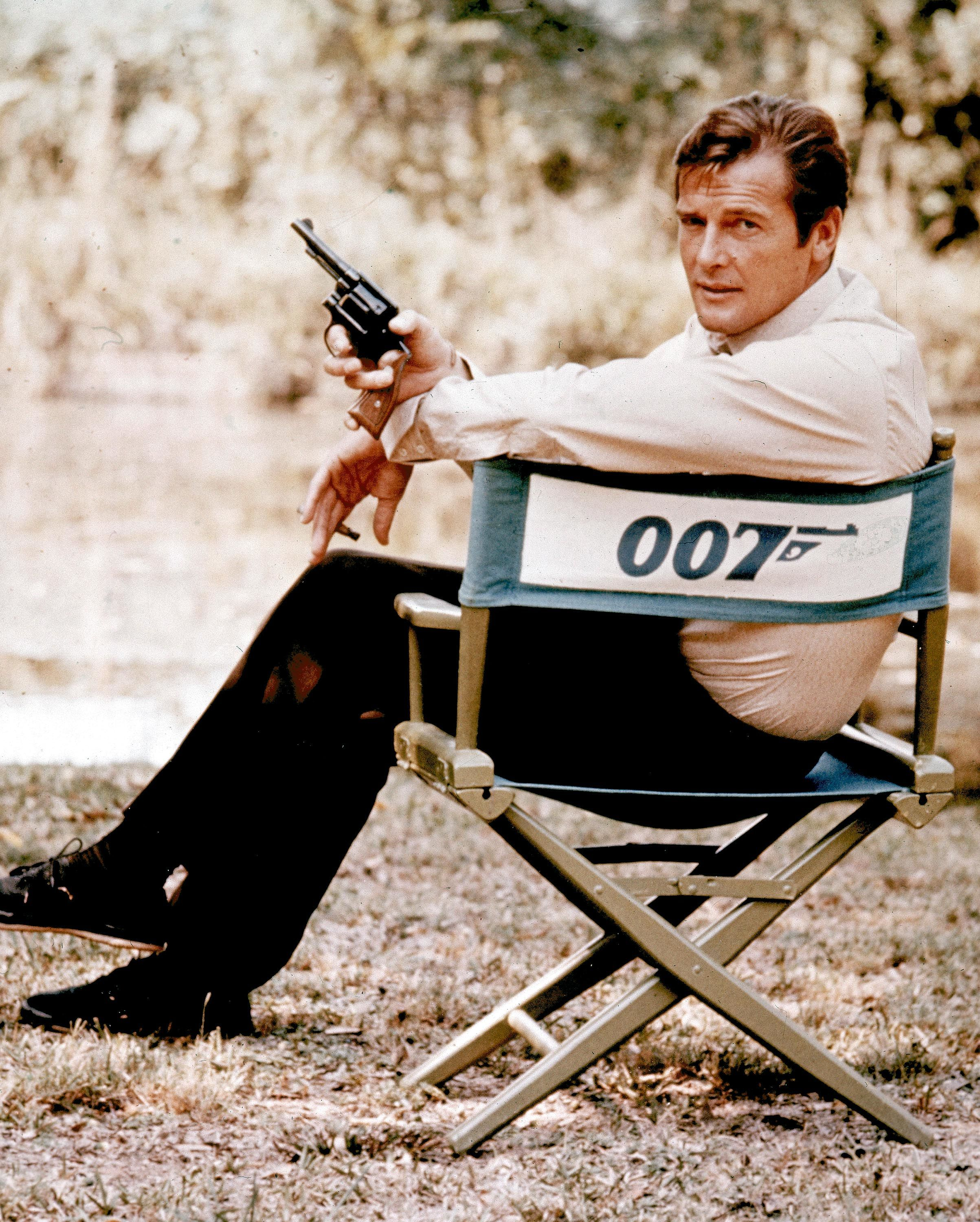 Roger Moore: Nobody does it better.