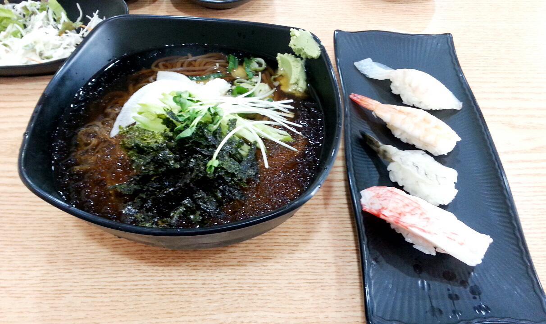 [모현/모밀] 냉모밀 초밥세트 - 미가초밥