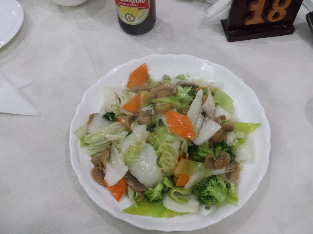 [탄자니아] 마지막 만찬은 중식당에서