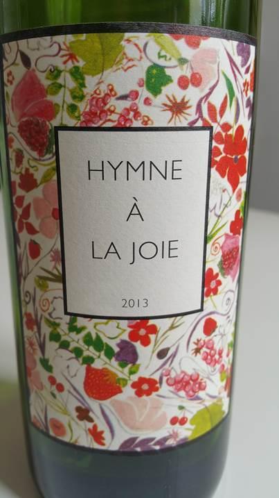 프랑스 와인: 기쁨의 찬가 (Hymne à la joie) 2013