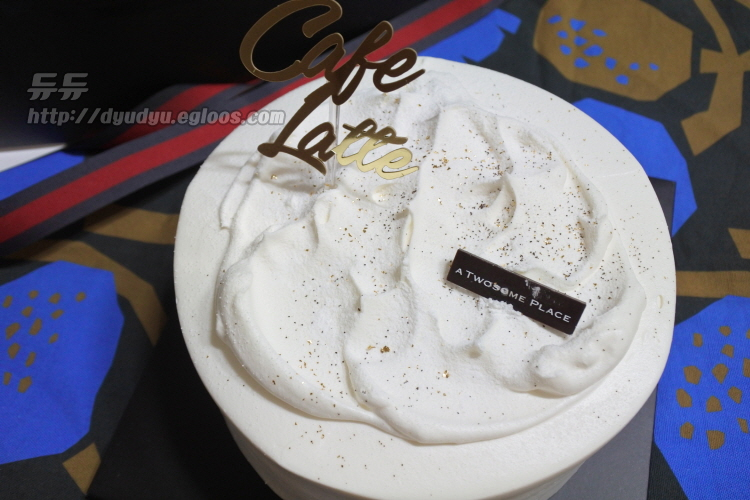 투썸플레이스 커피생크림 케이크(홀케익)