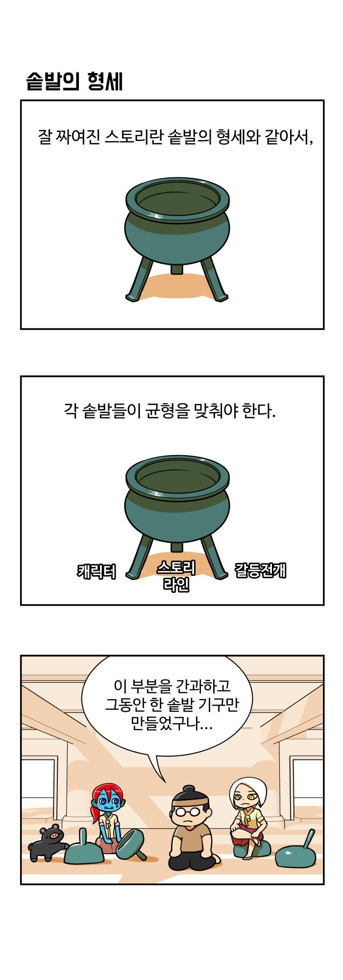 만화일기 - 솥발의 형세