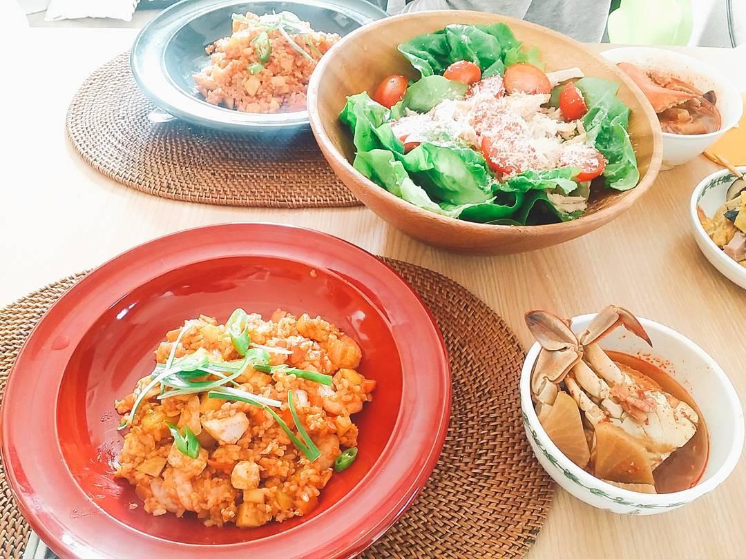 집밥 일기 -이국적인 요리가 땡길때(태국식 인도..