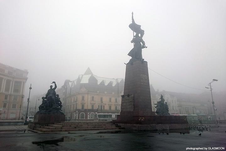 극동 러시아 여행; 비와 안개의 블라디보스토크