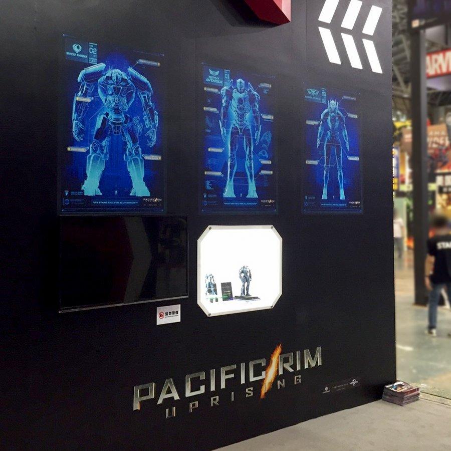 퍼시픽 림 : 업라이징의 등장예거들 공개
