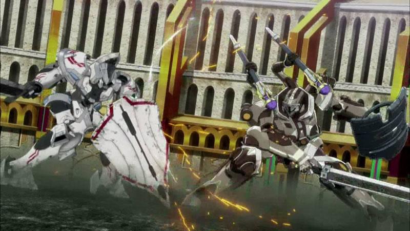 로봇의 매카 액션은 3D CG가 정복한다!!