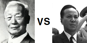 이승만 vs 응우옌반티에우