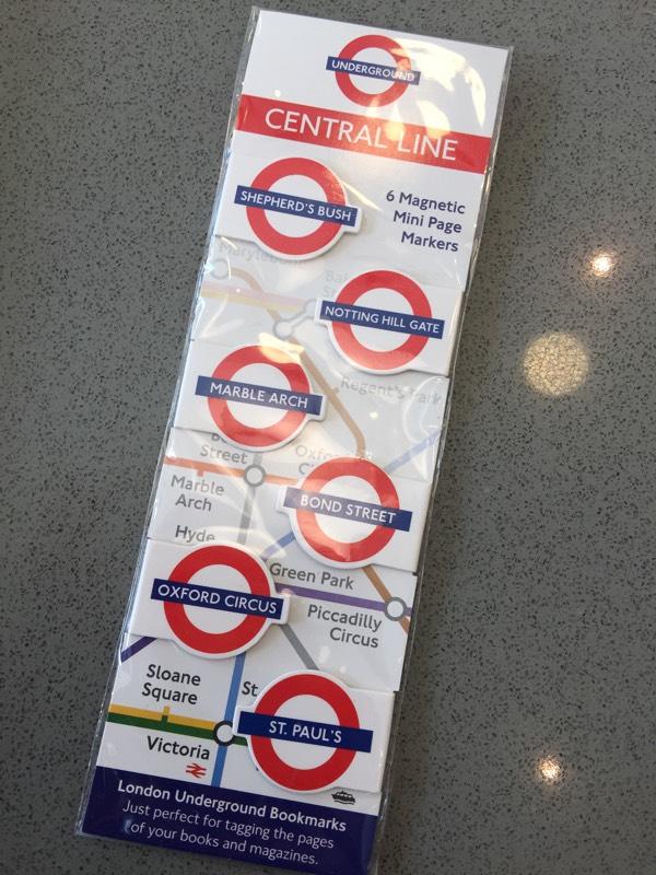 (기념품) 런던 지하철 북마크