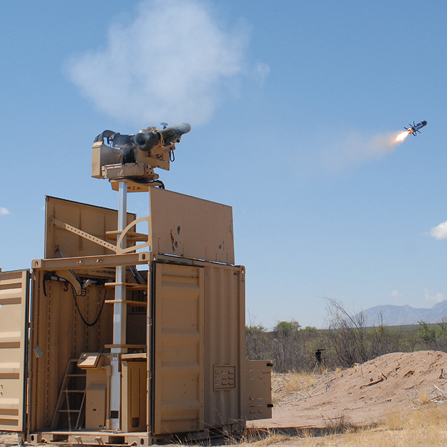 스트라이커 30mm 무인포탑 사격 및 CROWS 자벨린 발..