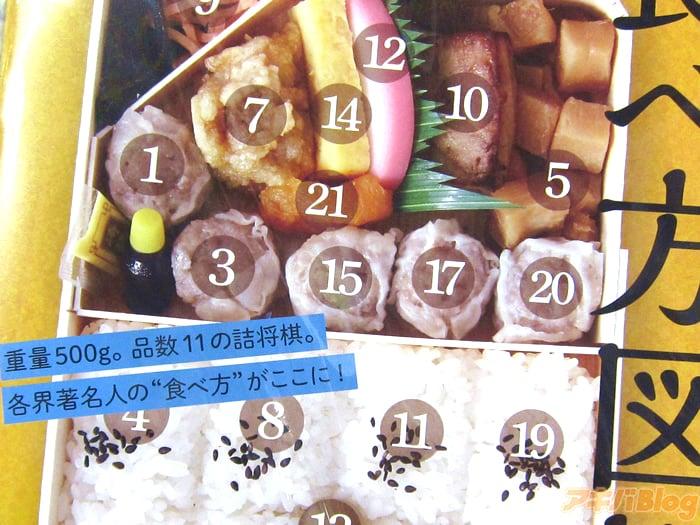 키요켄의 슈마이 도시락을 먹는 방법을 해설하는 ..