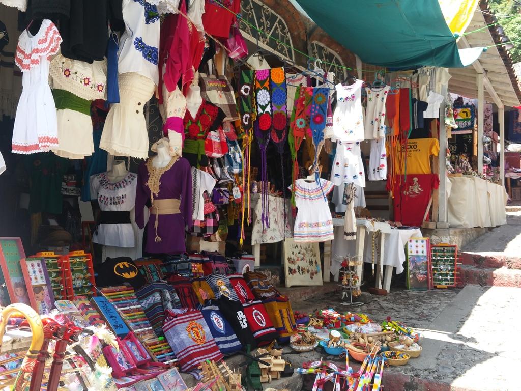 [멕시코] 하니찌오 쇼핑 골목