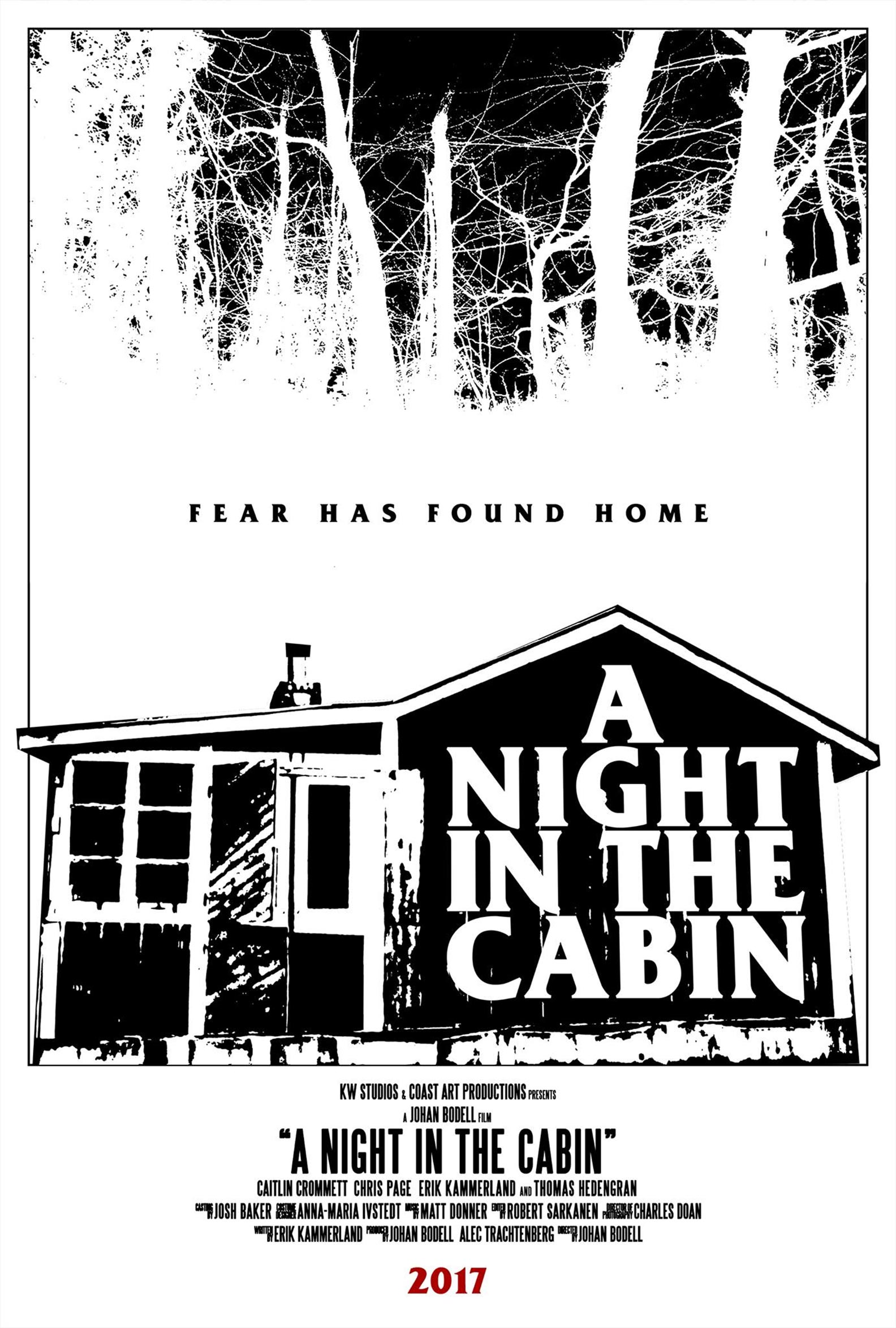 """A Night in the Cabin"" 예고편입니다."
