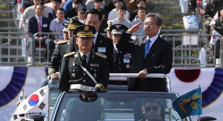 국군의 날 기념식... 홍준표, 안철수는 불참