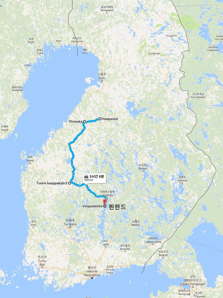 핀란드 여행8 - 일리비에스카, 튜리, 코르필라흐티