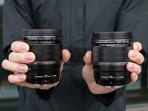 올림푸스, 새로운 Pro 단렌즈 17mm f1.2, 45mm f1.2..