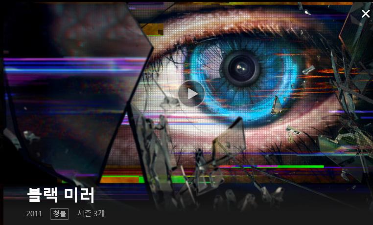[넷플릭스] 블랙미러 시즌3 감상