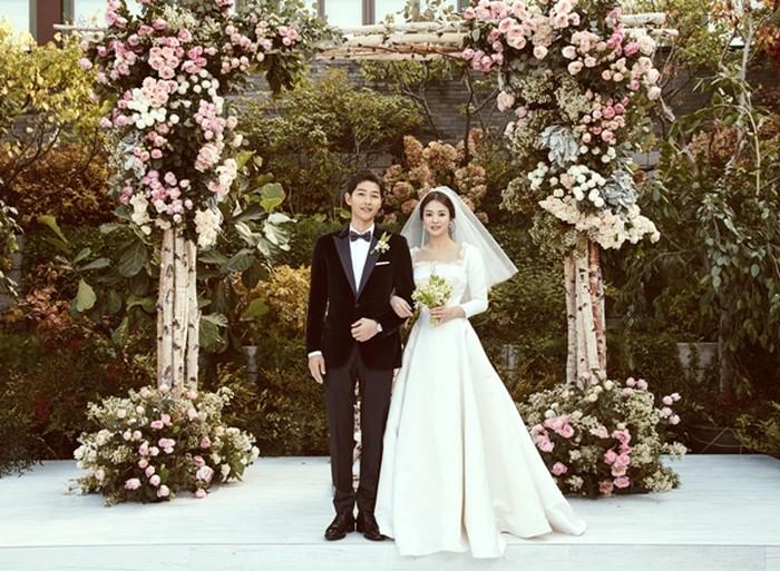 송중기♥송혜교 행복한 결혼식