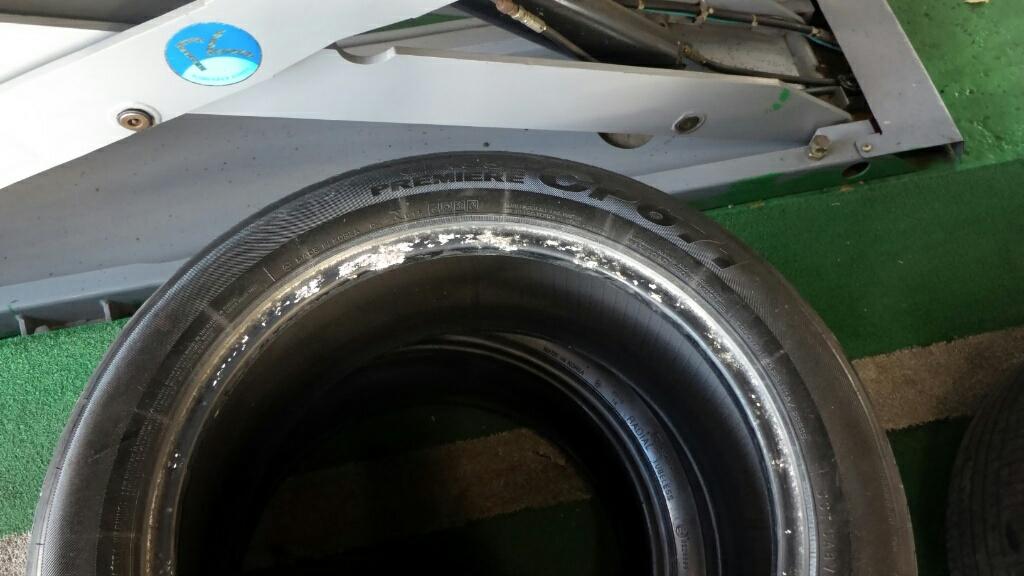 SM5 타이어와 휠을 교체했습니다