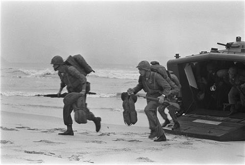 1965년 5월의 베트남전의 전황
