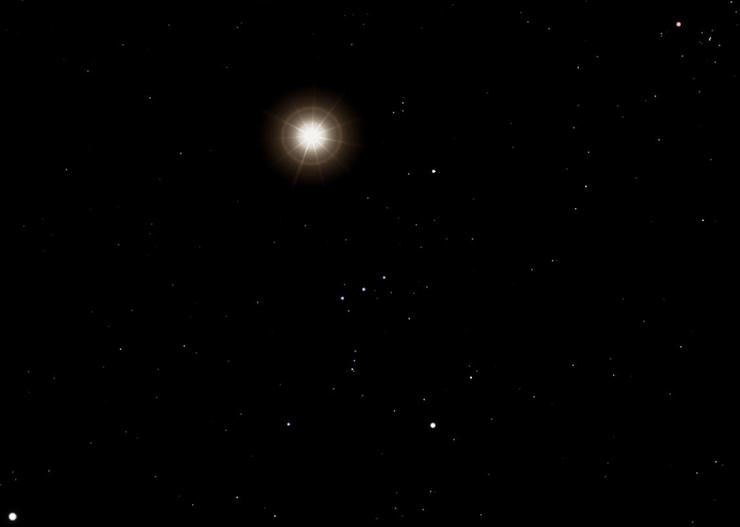 초신성 폭발로 일생을 마칠 별의 후보들