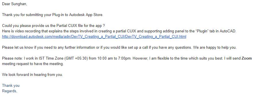[네번째] Autodesk App Store에 응용프로그..