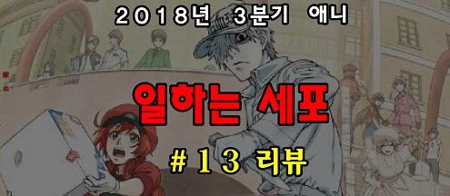 [자막] 일하는 세포 13화 자막(完)