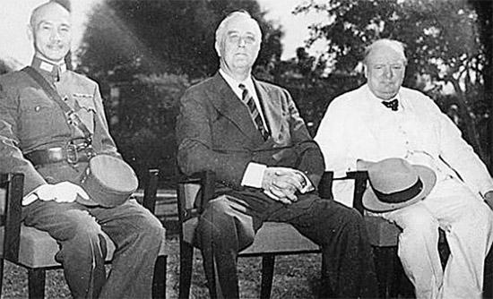 [41년]미일 협상에 대한 장개석과 처칠의 초조함?