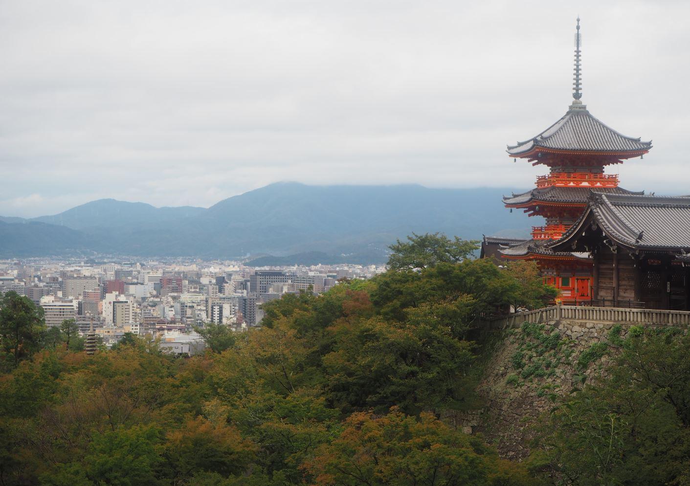 교토-오사카 여행 (2) - 기요미즈데라