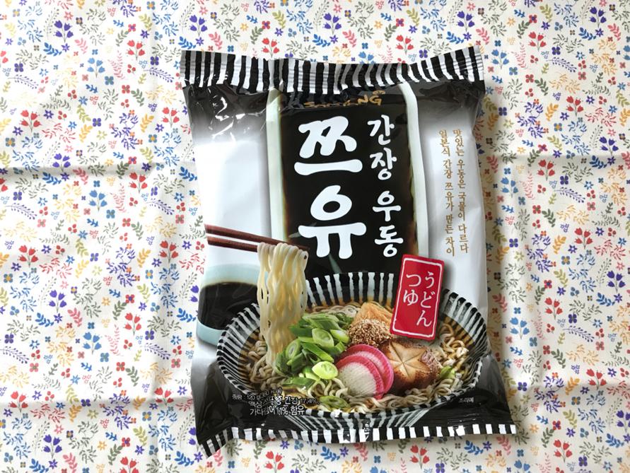 깔끔한 맛, 건면의 편안함 [삼양] 쯔유간장우동
