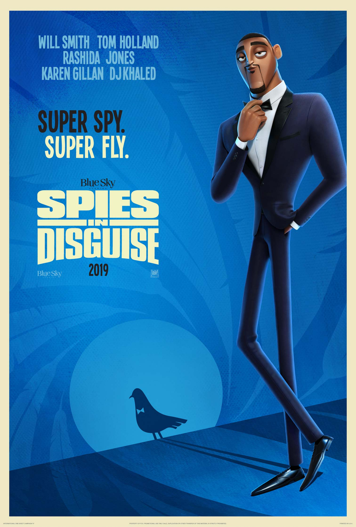 """Spies in Disguise"" 라는 작품의 예고편 입니다."
