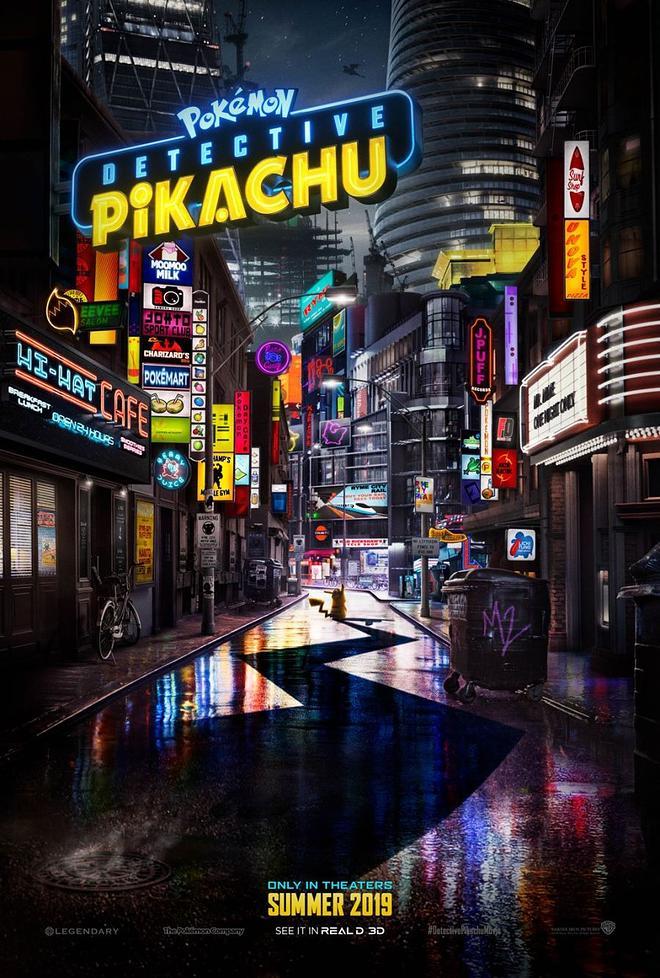 """""""Pokémon : Detective Pikachu""""가 나옵니다"""