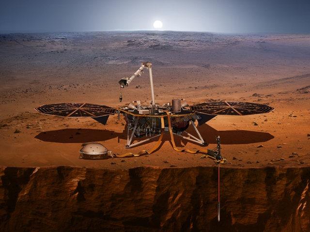 화성 탐사선 `인사이트(InSight)` 27일, 세기..