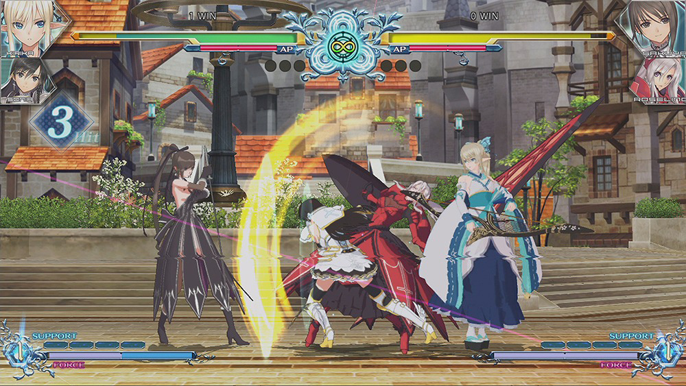 격투 게임 'BLADE ARCUS Rebellion from Shin..