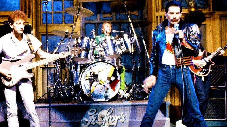 퀸 - Under Pressure (1992년 SNL)