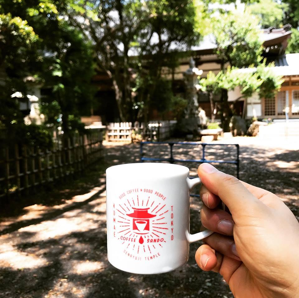 절에서 열린 커피 행사, 도쿄 커피 참배 이야기