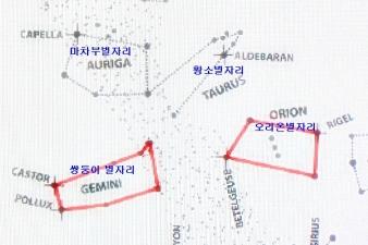 12월 밤하늘의 별자리 얘기(2)