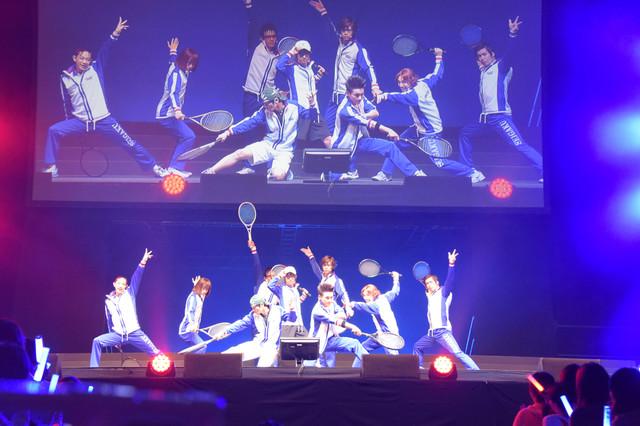 '신 테니스의 왕자님'의 스테이지 이벤트가 개최된..