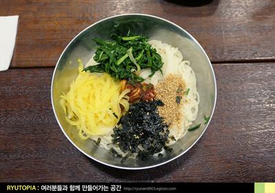 2018.12.27. (19-完) 비빔국수로 먹다 육수 부어 ..