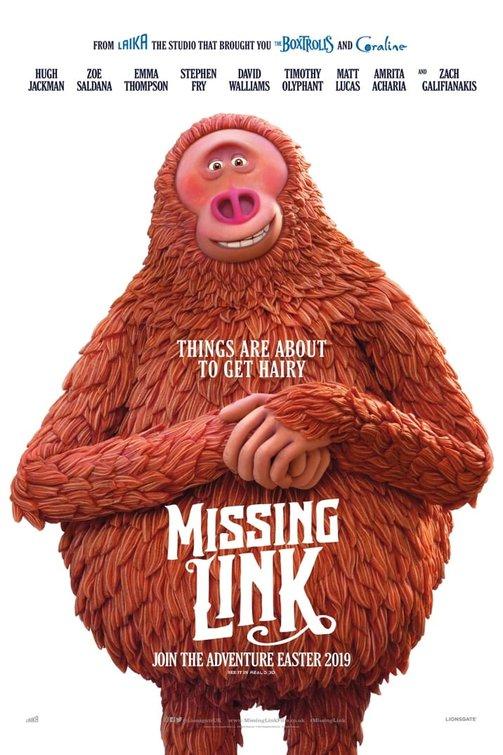 """""""MISSING LINK"""" 라는 작품의 예고편 입니다."""
