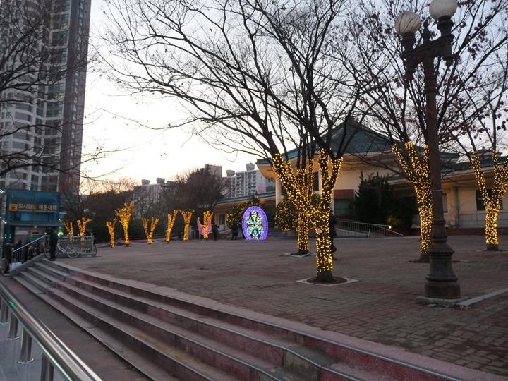제5회 2018년 겨울 해운대 라꼬 빛축제 사진들