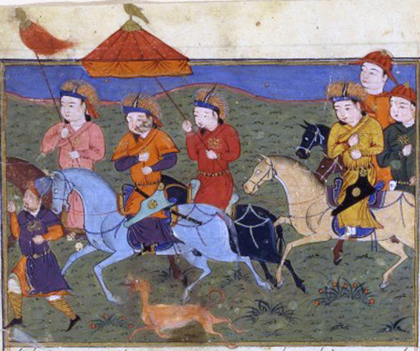 바그다드의 몰락 : Ⅱ. 몽골 제국의 바그다드 정복