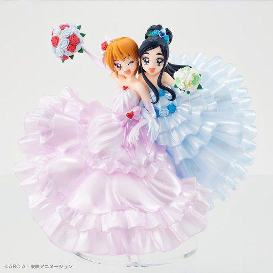 두 사람은 프리큐어, 나기사 & 호노카의 드레스 차..